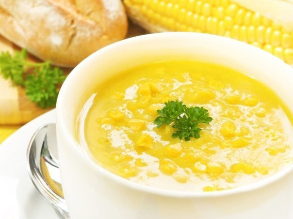 Кукурузный суп (604x453, 42Kb)