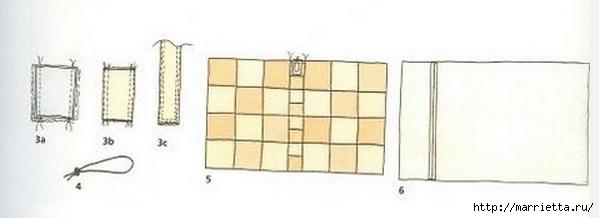 Пеленальный коврик - сумочка для малыша. Шьем сами (4) (599x218, 49Kb)