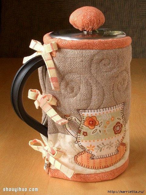 Лоскутное шитье. Красивая грелка для чайника (4) (480x640, 234Kb)