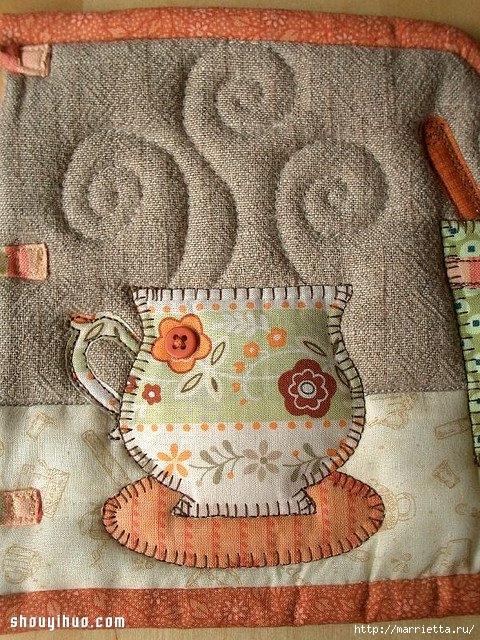 Лоскутное шитье. Красивая грелка для чайника (6) (480x640, 357Kb)