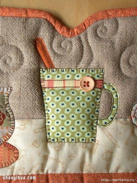 Лоскутное шитье. Красивая грелка для чайника (10) (480x640, 344Kb)