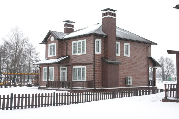 Проект каркасного дома КД-17 комфорт / каркасный дом 72