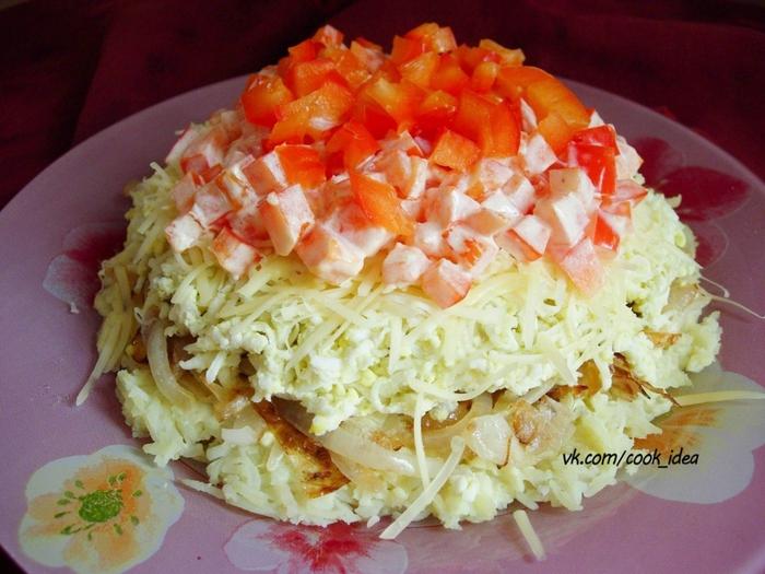 вкусный салат из капусты с гранатом