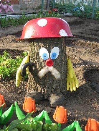 Какие поделки можно сделать для сада своими руками