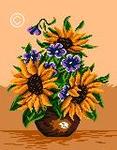 ������ G 356 Ikebana cu Floarea soarelui (125x160, 32Kb)