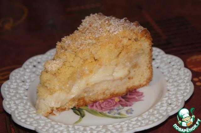Царский яблочный пирог фото рецепт