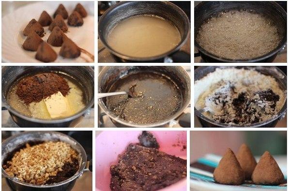Шоколадные трюфели (595x395, 66Kb)