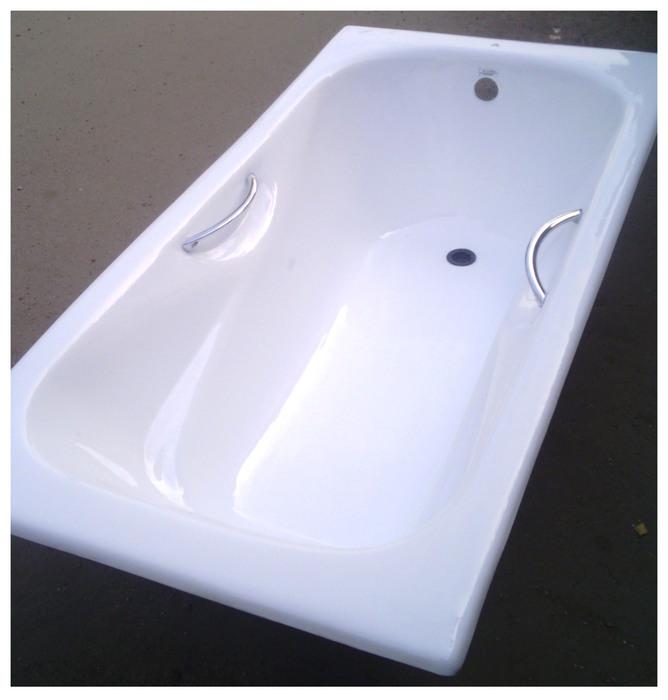 ванна чугунная 150х75 с ручками Goldman (668x700, 83Kb)