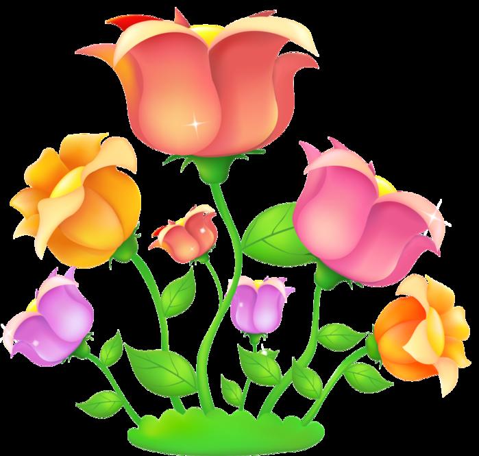 цветок картинки для детей нарисованные
