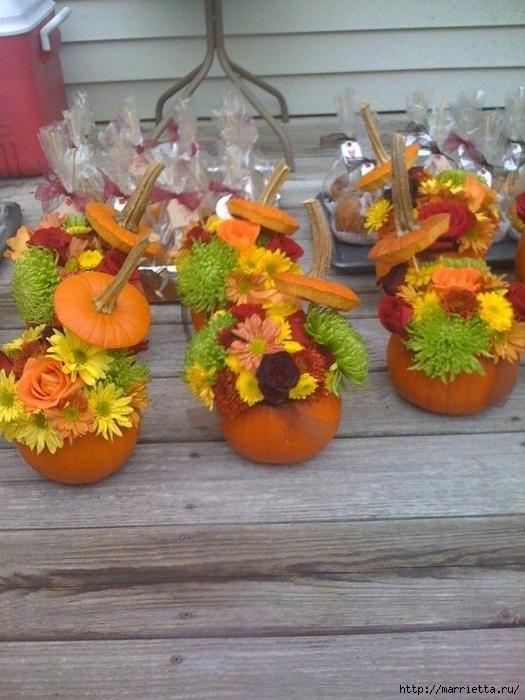 Декор для осеннего праздника