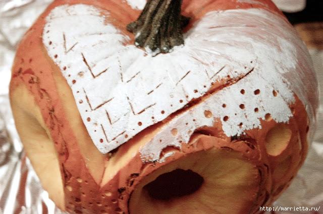 СОВА из тыквы. Идеи декора к Хэллоуину (12) (640x425, 197Kb)