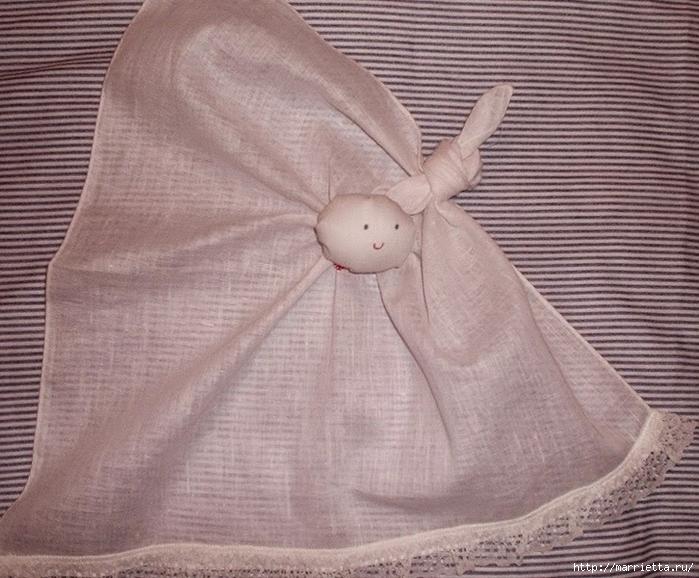 Куколка из носового платочка (3) (700x578, 316Kb)