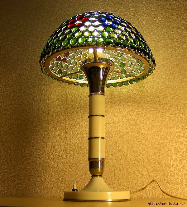 Абажур для лампы своими руками (23) (600x666, 336Kb)