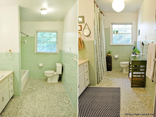Мебель для ванной комнаты своими руками. Столик и подставка для цветов (2) (640x480, 199Kb)