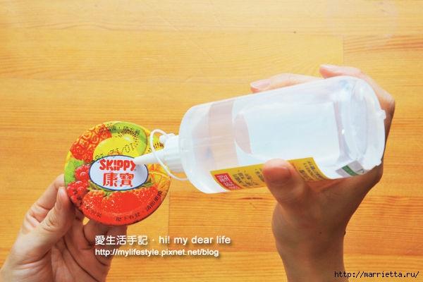 Decorar tapas para frascos con un paño (24) (600x400, 125Kb)