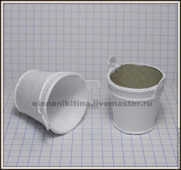 Эмалированное ведерко из картона для миниатюры (8) (700x657, 286Kb)