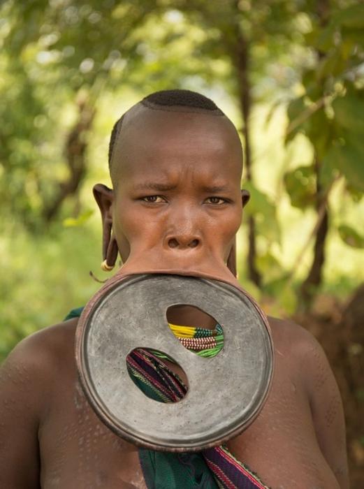 фото африканских племен девушек