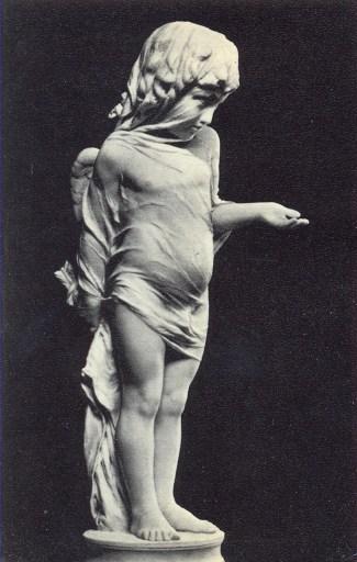 Проспер д'Эпине (1836-1912). Амур, просящий подаяния.