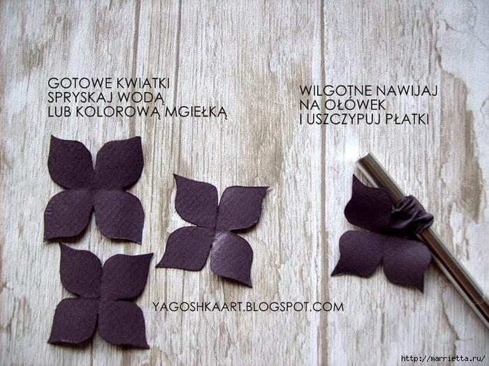 Бумагопластика. Цветы из