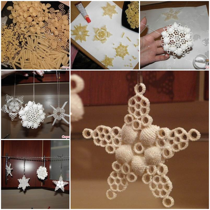 Creative-Ideas-DIY-Pasta-Snowflake-Ornaments (700x700, 447Kb)