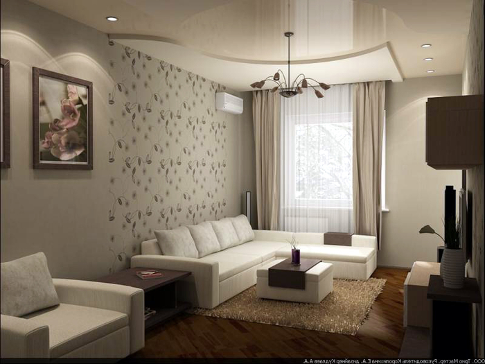 Дизайн комнаты 16 метров фото