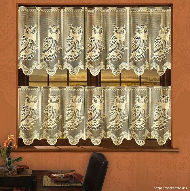 Модные шторки для окон (11) (660x662, 414Kb)