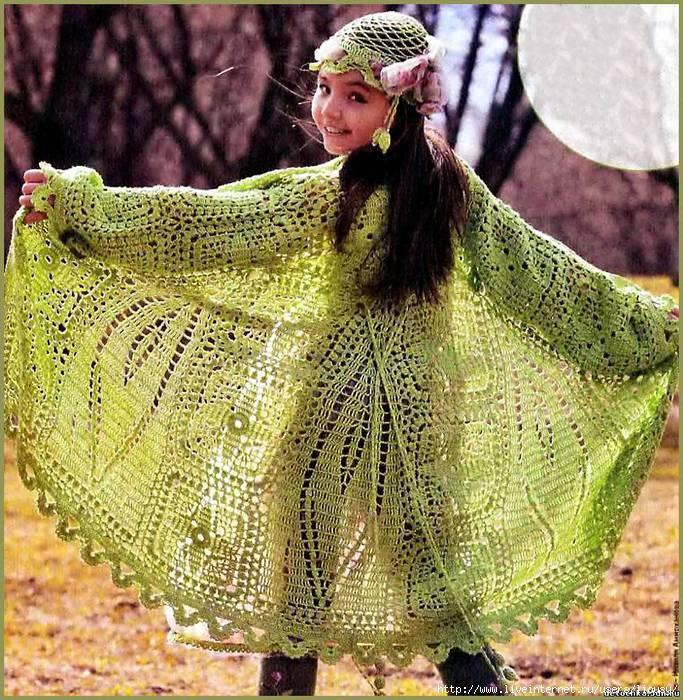 пальто для девочки (683x700, 385Kb)