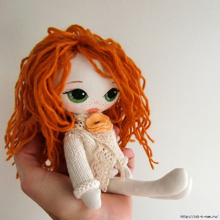 как сшить куклу, как сделать текстильную куклу, мастер класс по пошиву текстильной куклы, мастер класс по созданию текстильной куклы фото, как сделать лицо текстильной кукле. текстильная кукла с вышитым лицом Хьюго Пьюго,