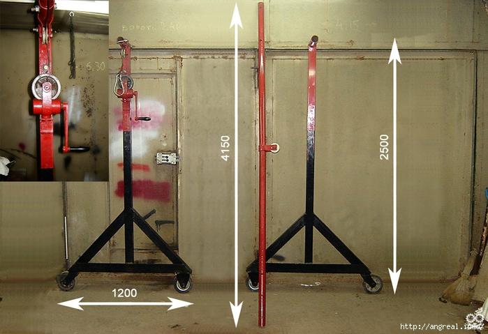 Подъемное устройство для гаража своими руками