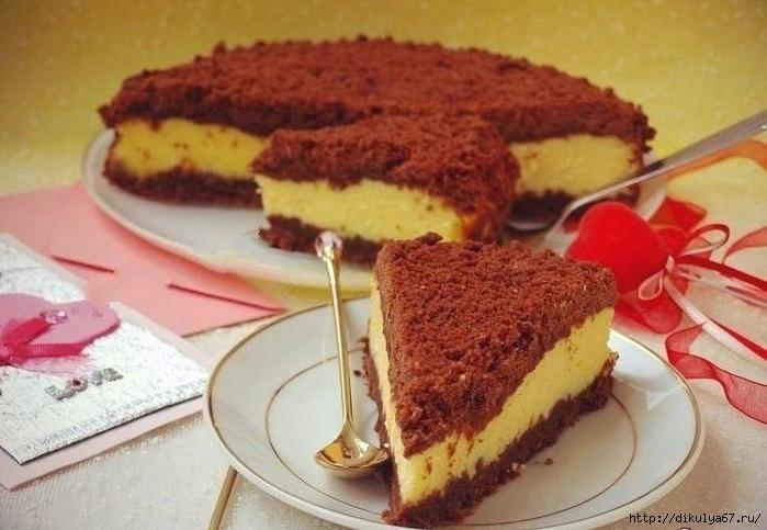 Творожный торфяной пирог (700x483, 175Kb)