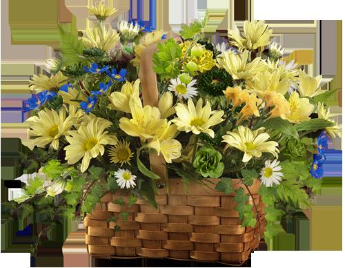 корзина с цветами (500x388, 356Kb)