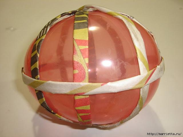 Декоративные шары из газетных трубочек (3) (640x480, 143Kb)