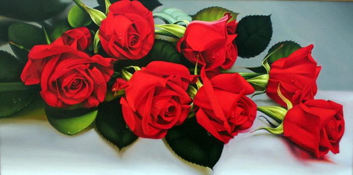 Розы ко дню рождения (699x346, 77Kb)