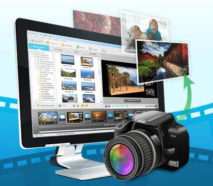 создать видео из фотографий онлайн: