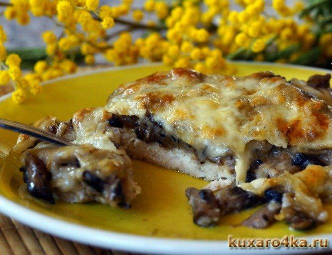 курица с грибами и сыром (667x512, 77Kb)