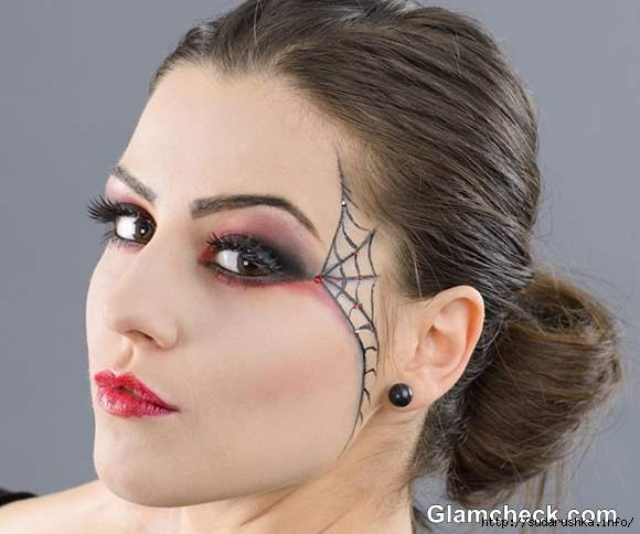 Halloween-Witch-Eye-Makeup-Spider-Web (580x484, 99Kb)