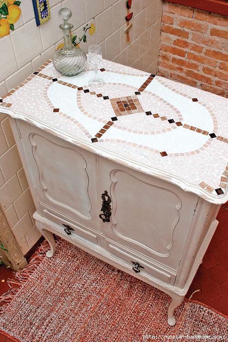 Лампа и Кухонный буфет с применением мозаики (13) (466x699, 293Kb)
