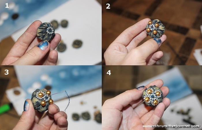Джинсовое ожерелье из ракушек, бисера и бусин (13) (700x453, 203Kb)