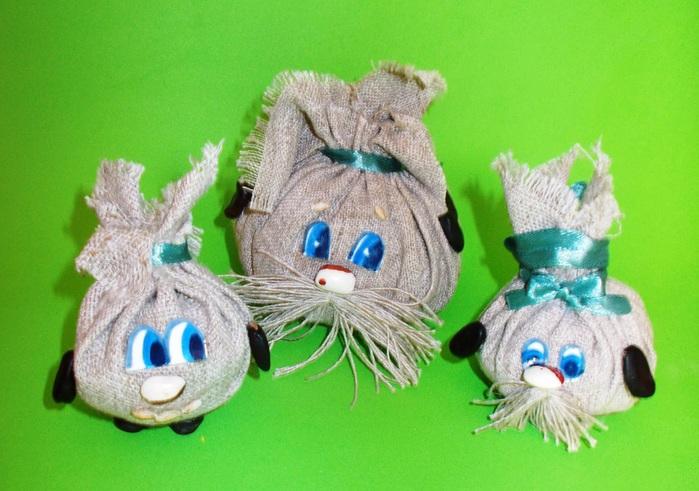 Поделки из мешковины для детей