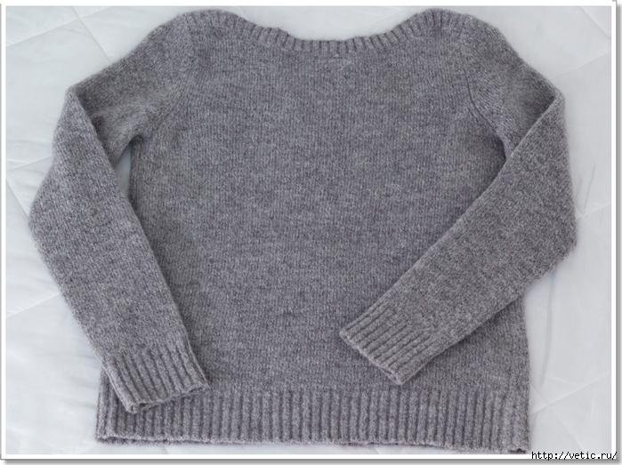 аппликация на свитере (птички) 001 рамка (700x523, 291Kb)