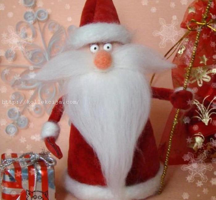 Как сделать новогодний дед мороз иМастер классы