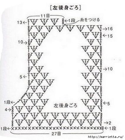 Платье для девочки крючком (1) (425x479, 110Kb)