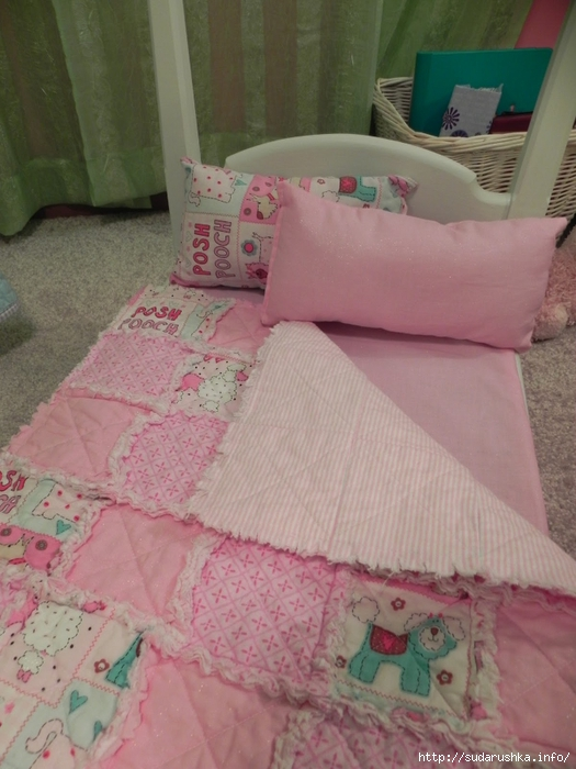 AG Quilt bed turned down (525x700, 253Kb)