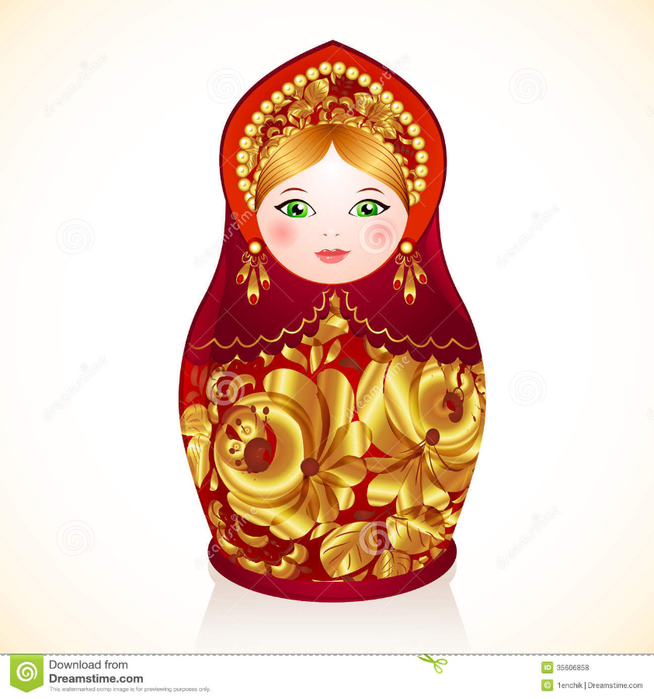 red-gold-colors-russian-doll-matryoshka-vector-35606858 (654x700, 306Kb)