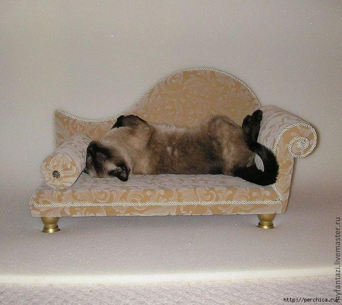 Диванчик для кошек своими руками