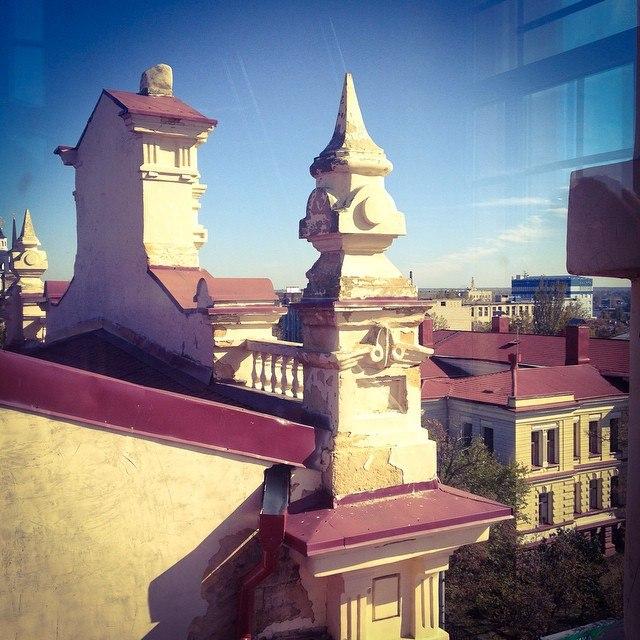 Вид на Херсон из башни художественного музея (640x640, 377Kb)