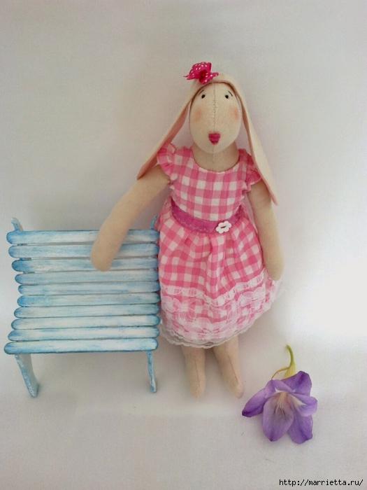 Для кукол. Садовая скамейка из палочек от мороженого (33) (525x700, 227Kb)