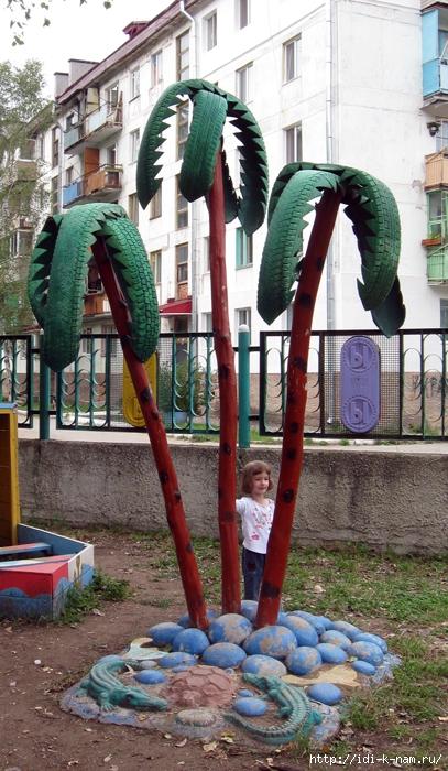 поделки для дачи, как украсить дачу, поделки из камней. что можно сделать из камней, поделки для площадки в детском саду. поделки для детской площадки, поделки для участка детского садика, Хьюго Пьюго рукоделие, как украсить площадку участок детского сада,