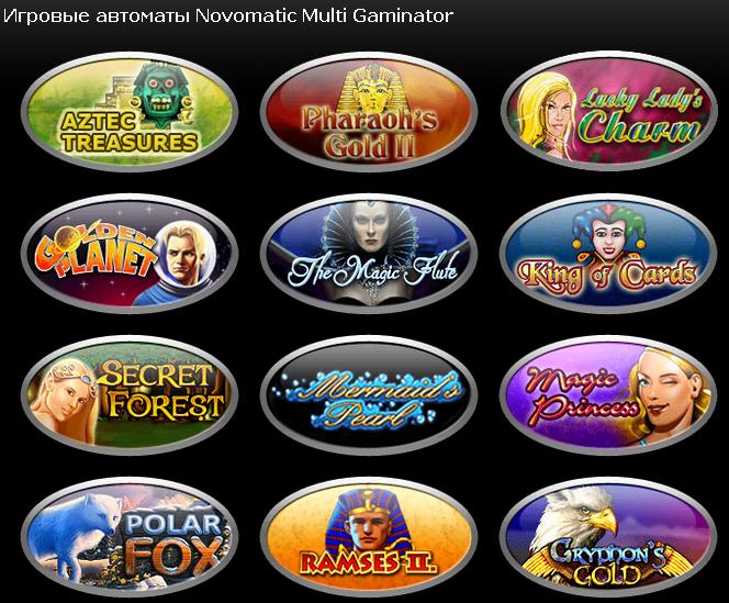 Игровые автоматы Novomatic Multi Gaminator