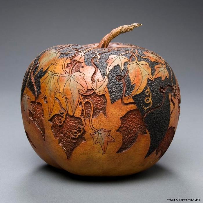 Резьба по тыкве. ШЕДЕВРЫ от Мэрилин Сандерленд (36) (700x700, 324Kb)